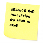 The two questions at the core of genuine service and innovation