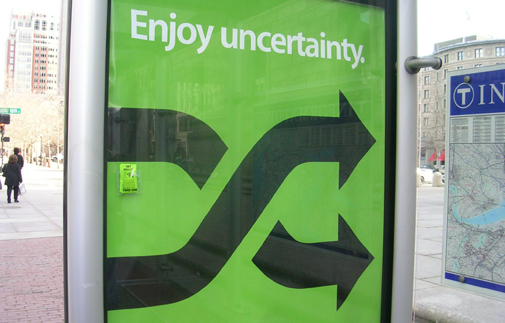 enjoy uncertainty