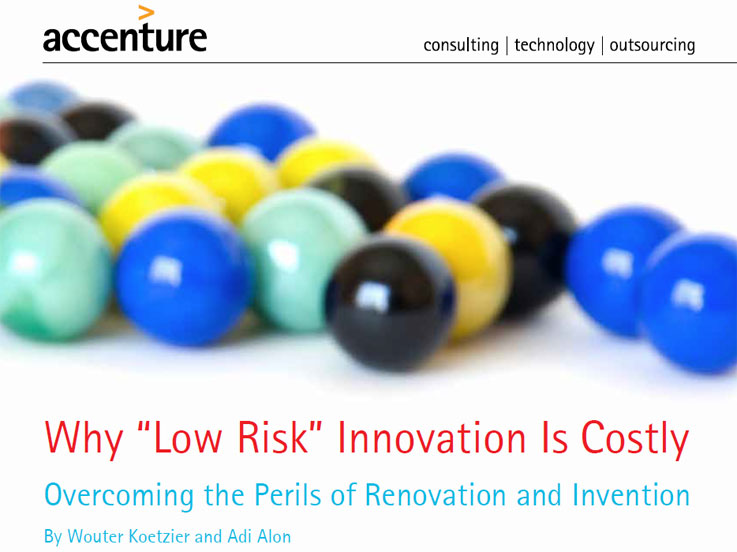 accenture why low cost innovation is risky