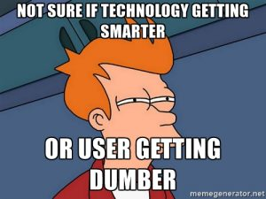 technology is making us dumber
