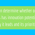 A Critical Measure of Innovation: Leadership and Priorities