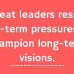 Poor Leadership Defined: Playing Not To Lose