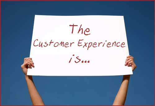 the customer experience is