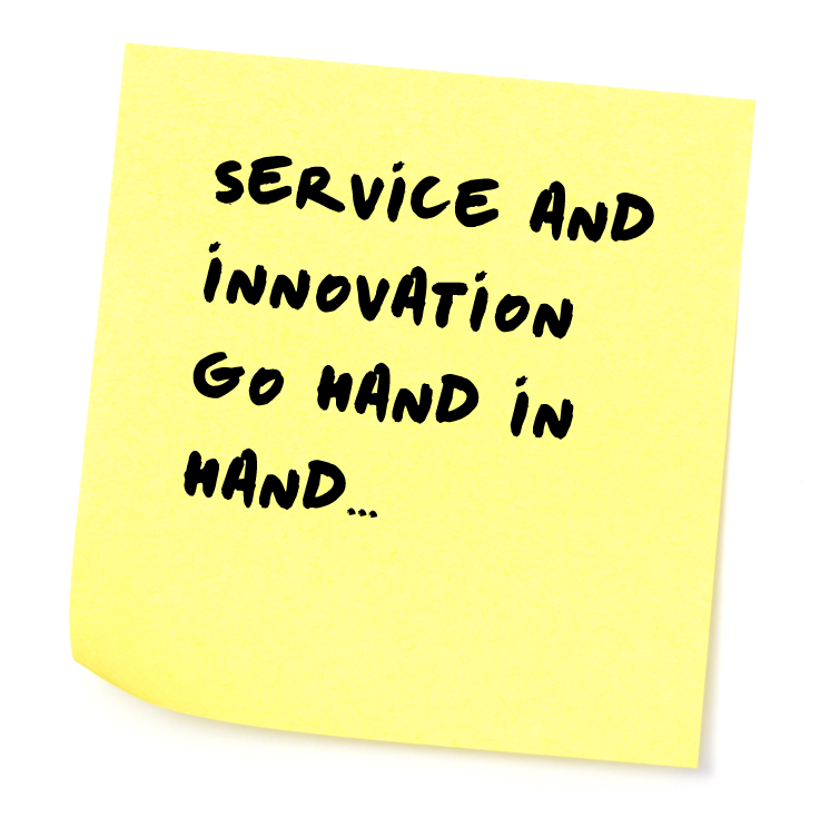 service and innovation