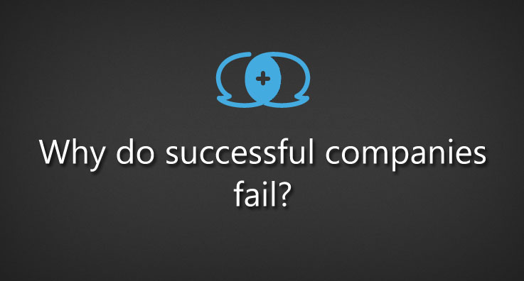 Why do successful companies fail?