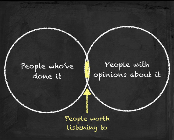 People worth listening to
