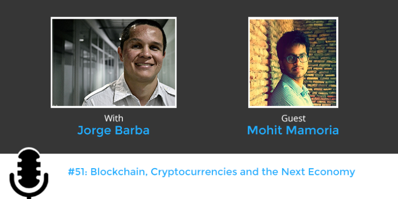 blockchain and cryptocurrencies with Mohit Mamoria