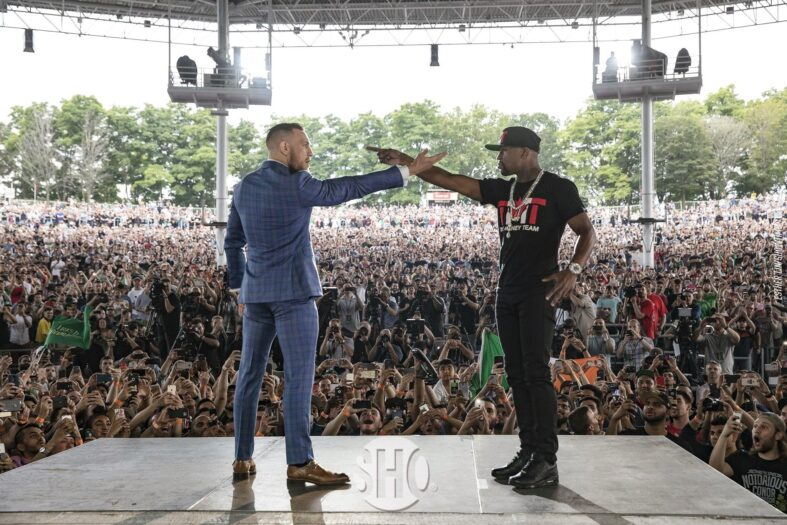 conor mcgregor vs floyd mayweather jr