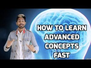 how to learn advanced concepts fast siraj raval