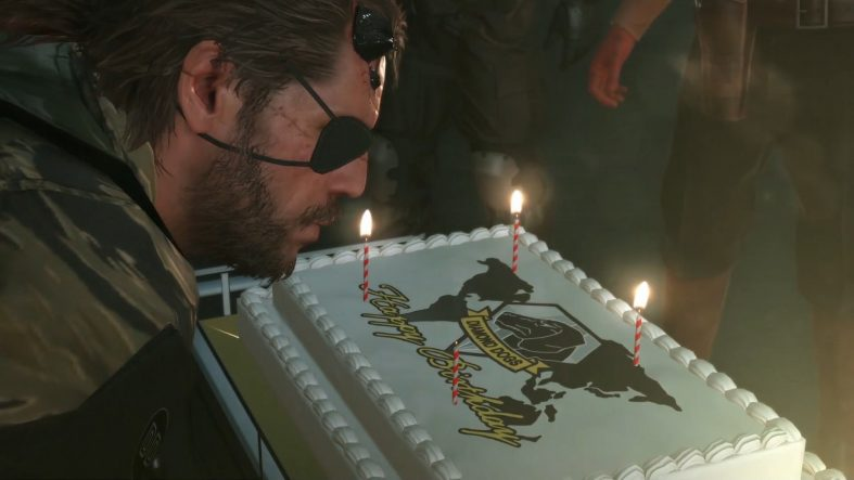 metal gear solid v phantom pain birthday easter egg